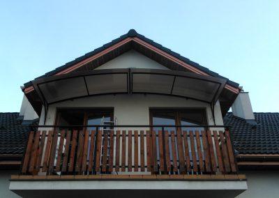 Daszki balkonowe Łódź