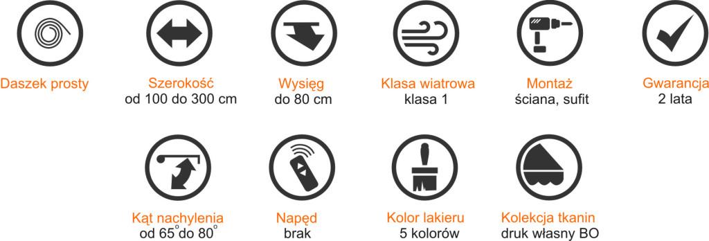 Specyfikacja Markizo-Daszek