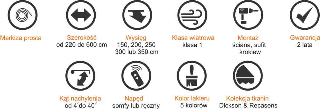 specyfikacja WEVO
